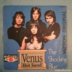 Discos de vinilo: THE SHOCKING BLUE - VENUS / HOT SAND - POPLANDIA - 1969. Lote 194126135