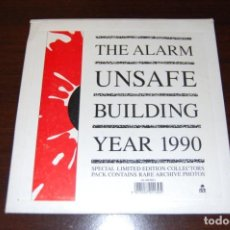 Discos de vinilo: THE ALARM UNSAFE BUILDING YEAR 1990 (SINGLE). Lote 194126512