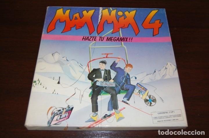 MAX MIX 4 2 DISCOS. AÑOS 80 (Música - Discos - LP Vinilo - Disco y Dance)