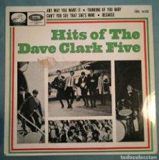 Discos de vinilo: DAVE CLARK FIVE - HITS OF THE DAVE CLARK FIVE - EMI RECORDS - 1964. Lote 194132525