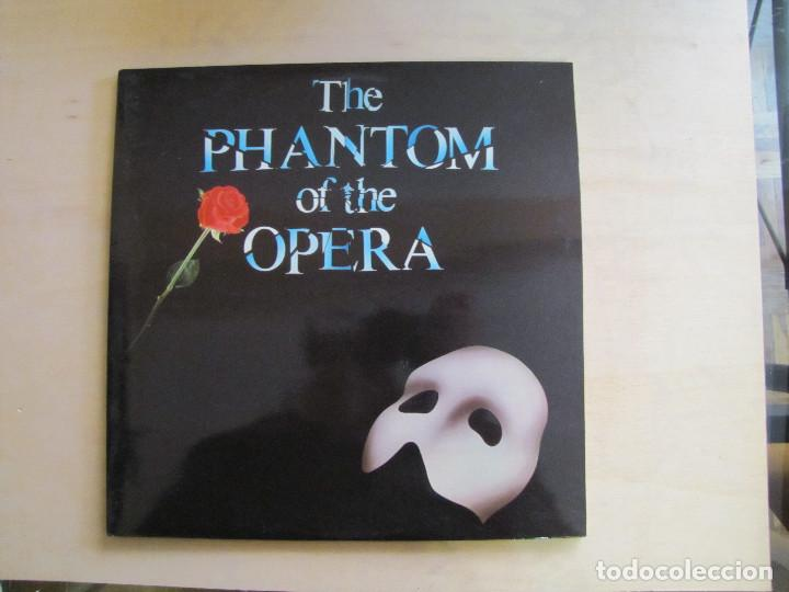 THE PHANTOM OF THE OPERA. BSO. POLYGRAM, 831 273-1 AK. ESPAÑA, 1987. FUNDA VG++. DISCO VG++ (Música - Discos - LP Vinilo - Bandas Sonoras y Música de Actores )