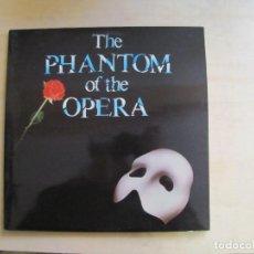 Discos de vinilo: THE PHANTOM OF THE OPERA. BSO. POLYGRAM, 831 273-1 AK. ESPAÑA, 1987. FUNDA VG++. DISCO VG++. Lote 194136008