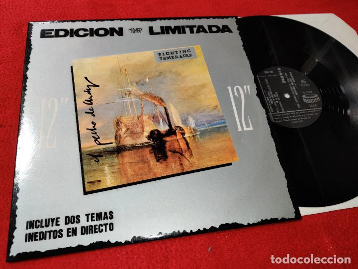 Discos de vinilo: EL PECHO DE ANDY Fighting temeraire/Golpe mortal/En la red 12 MX 1987 ROCCO NEW WAVE MOVIDA RARO - Foto 1 - 194137025