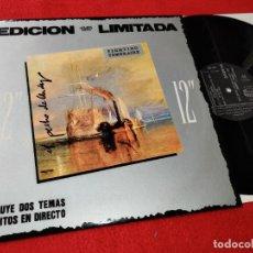 Discos de vinilo: EL PECHO DE ANDY FIGHTING TEMERAIRE/GOLPE MORTAL/EN LA RED 12'' MX 1987 ROCCO NEW WAVE MOVIDA RARO. Lote 194137025