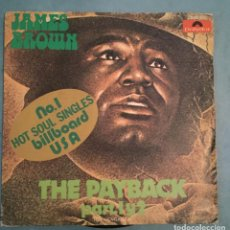Discos de vinilo: JAMES BROWN - THE PAYBACK PART 1 Y 2 - POLYDOR - 1974. Lote 194137420