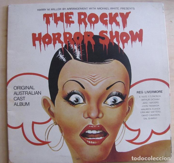 THE ROCKY HORROR SHOW. ORIGINAL AUSTRALIAN CAST ALBUM. FESTIVAL, L 35231. AUSTRALIA, 1974. GATEFOLD. (Música - Discos - LP Vinilo - Bandas Sonoras y Música de Actores )