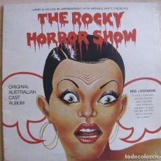 Discos de vinilo: THE ROCKY HORROR SHOW. ORIGINAL AUSTRALIAN CAST ALBUM. FESTIVAL, L 35231. AUSTRALIA, 1974. GATEFOLD.. Lote 194138896