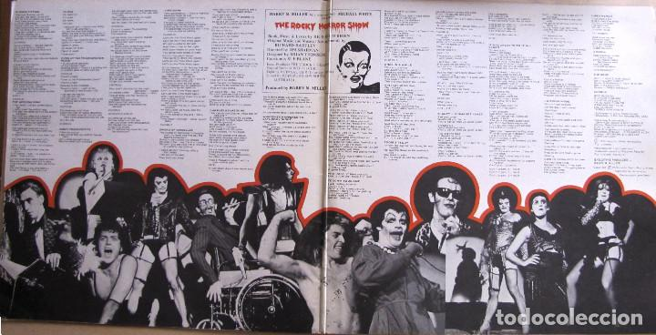 Discos de vinilo: The Rocky Horror Show. Original Australian Cast Album. Festival, L 35231. Australia, 1974. Gatefold. - Foto 2 - 194138896