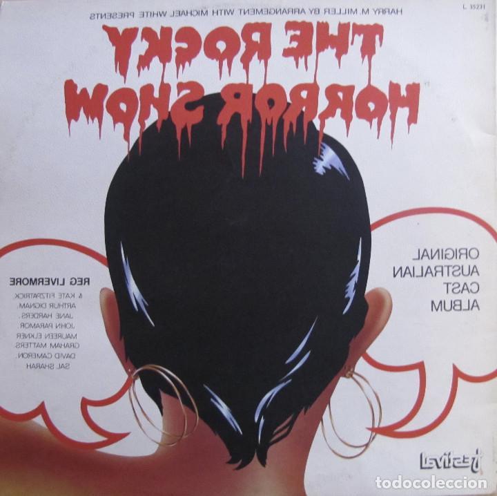 Discos de vinilo: The Rocky Horror Show. Original Australian Cast Album. Festival, L 35231. Australia, 1974. Gatefold. - Foto 3 - 194138896
