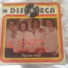 "Dischi in vinile: RACEY: SOME GIRLS DISCOTECA 7"". Lote 194139337"