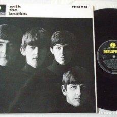 Discos de vinilo: THE BEATLES - WITH THE BEATLES 1963, 2º LP, RARA EDIC ORG UK PARLOPHONE PMC 1206 XEX 447-7, TODO EXC. Lote 194139878