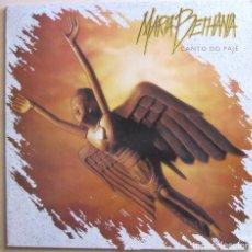 Discos de vinilo: MARÍA BETHANIA. CANTO DO PAJE. PHILIPS, 848 022-1. HOLANDA, 1991. FUNDA VG++. DISCO VG+.. Lote 194141050
