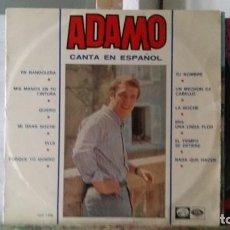 Discos de vinilo: *** ADAMO - CANTA EN ESPAÑOL - LP 1966 - LEER DESCRIPCIÓN. Lote 194141248
