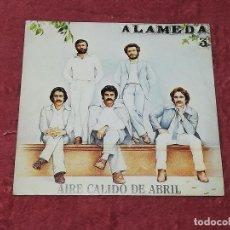 Discos de vinilo: ALAMEDA (AIRE CÁLIDO DE ABRIL / CUANDO LLEGA LA AURORA) - EPIC, 1981 -. Lote 194141455