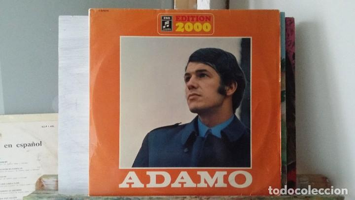 ** ADAMO - EDITION 2000 - DOBLE LP 2000 - DOBLE PORTADA - MADE IN GERMANY - LEER DESCRIPCIÓN (Música - Discos - LP Vinilo - Cantautores Extranjeros)
