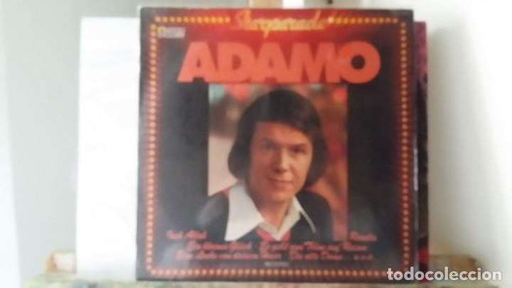 ** ADAMO - STARPARADE - LP 19?? - MADE IN GERMANY - LEER DESCRIPCIÓN (Música - Discos - LP Vinilo - Cantautores Extranjeros)