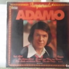 Discos de vinilo: *** ADAMO - STARPARADE - LP 19?? - MADE IN GERMANY - LEER DESCRIPCIÓN. Lote 194142223