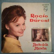 Discos de vinilo: ROCIO DURCAL - ROCIO DE LA MANCHA - BANDA SONORA ORIGINAL - PHILIPS - 1963. Lote 194143038