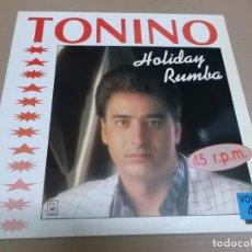 Discos de vinilo: TONINO (MAXI) SE VA EL CAIMAN +1 TRACK AÑO – 1991. Lote 194143142