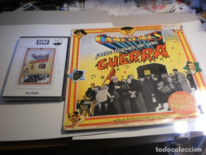 LP 2 DISCOS + DVD PRECINTADO. CANCIONES PARA DESPUÉS DE UNA GUERRA CBS 1976 SPAIN (LEER) (Música - Discos - LP Vinilo - Bandas Sonoras y Música de Actores )