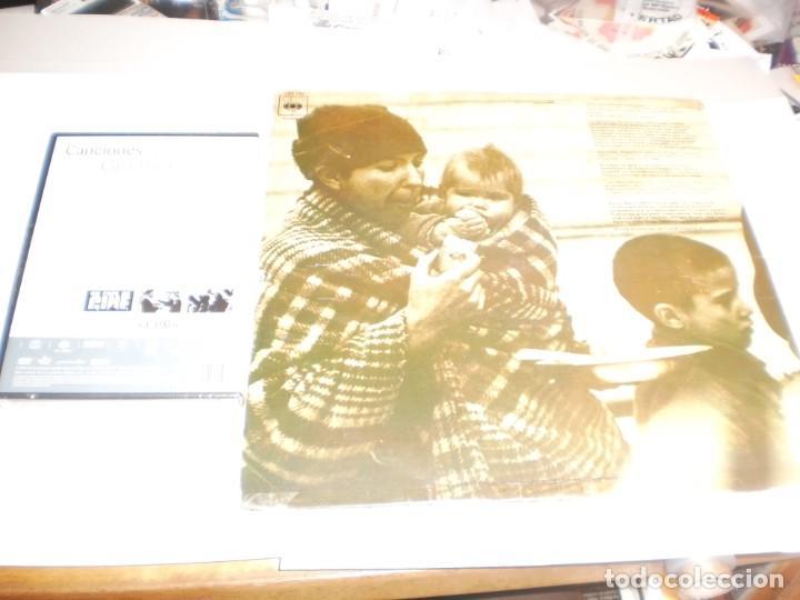 Discos de vinilo: lp 2 discos + dvd precintado. canciones para después de una guerra cbs 1976 spain (leer) - Foto 2 - 194143725
