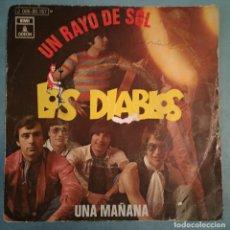 Discos de vinilo: LOS DIABLOS - UN RAYO DE SOL - EMI ODEON - 1970. Lote 194147500