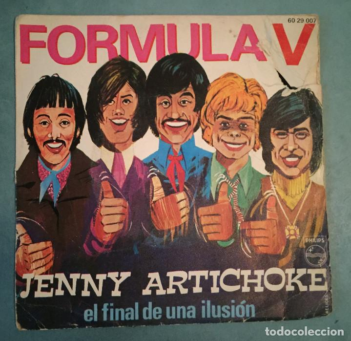 FORMULA V - JENNY ARTICHOKE - PHILIPS - 1970 (Música - Discos - Singles Vinilo - Grupos Españoles de los 70 y 80)