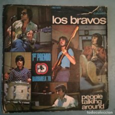 Discos de vinilo: LOS BRAVOS - PEOPLE TALKING AROUND - COLUMBIA - 1970. Lote 194150231