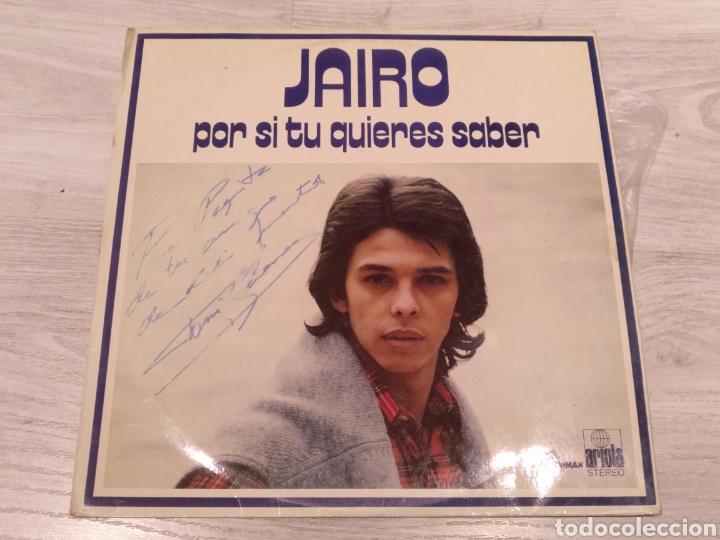 JAIRO LP POR SI TÚ QUIERES SABER 1972 (Música - Discos - LP Vinilo - Solistas Españoles de los 70 a la actualidad)