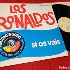 Discos de vinilo: LOS RONALDOS SI OS VAIS/VENTE CONMIGO/ANA Y CHONI 12'' MX 1987 EMI MOVIDA POP COQUE MALLA. Lote 194154333