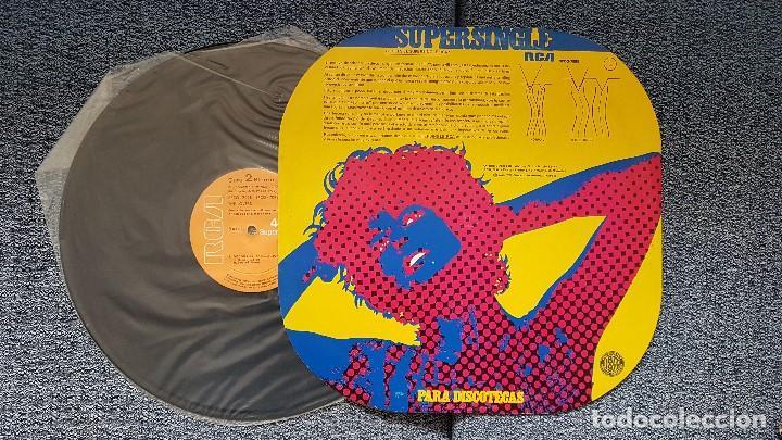 Discos de vinilo: The Lovers - Discomania medley/Discomania 2ª parte. Supersingle editado por RCA. año 1.977 - Foto 2 - 194158386