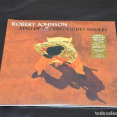 Discos de vinilo: VINILO DOBLE NUEVO - BLUES - ROBERT JOHNSON - KING OF THE DELTA BLUES SINGERS. Lote 194159446