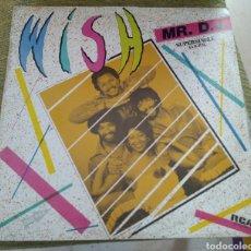 Discos de vinilo: WISH - MR. D. J.. Lote 194160647