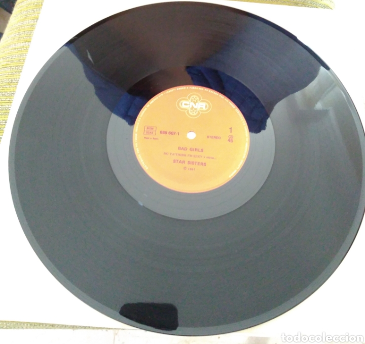 Discos de vinilo: Star sisters - bad girls - Foto 2 - 194161283