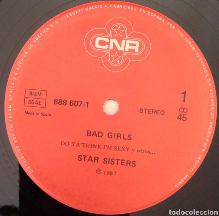 Discos de vinilo: Star sisters - bad girls - Foto 3 - 194161283