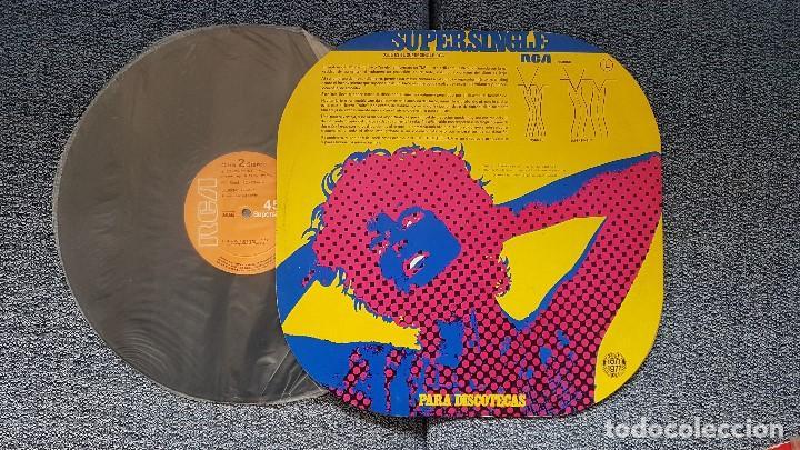 Discos de vinilo: Laurent Voulzy - Rockollection / Le miroir. supersingle discotecas. editado por RCA. año 1.977 - Foto 2 - 194163523