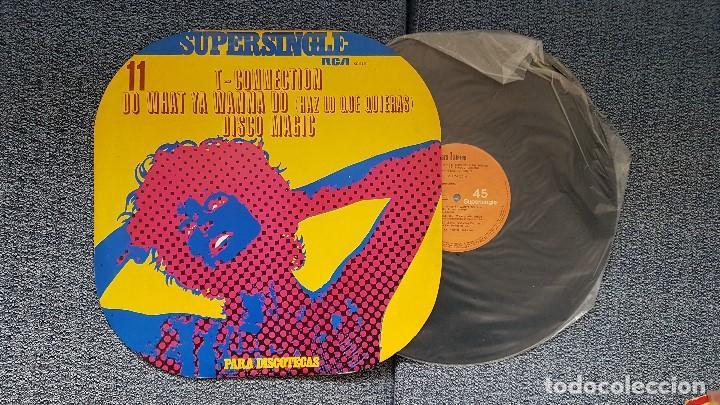 T-CONNECTION - DO WHAT YA WANNA DO / DISCO MAGIC. SUPERSINGLE DISCOTECAS. EDITADO POR RCA. AÑO 1.977 (Música - Discos de Vinilo - Maxi Singles - Funk, Soul y Black Music)