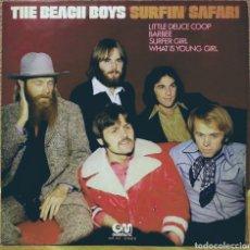 Discos de vinilo: THE BEACH BOYS - SURFIN' SAFARI LP GRAMUSIC 1974. Lote 194164042