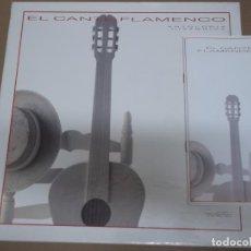 Discos de vinilo: EL CANTE FLAMENCO ANTOLOGIA HISTORICA (LP) VER FOTO CONTENIDO COMPLETO AÑO – 1981 – CAJA CON 6 DISCO. Lote 194164171