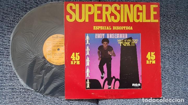 Discos de vinilo: Eddy Rosemond - Waque up and move / Between two memories.Supersingle. editado por RCA. año 1.981 - Foto 2 - 194166400