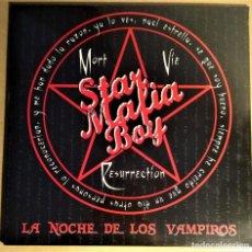 Discos de vinilo: STAR MAFIA BOY LA NOCHE DE LOS VAMPIROS LP 2010 VINILO ROCK HEAVY NACIONAL RARO. Lote 194166766