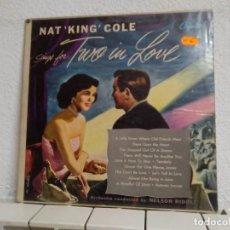 Discos de vinilo: NAT KING COLE. Lote 194172387