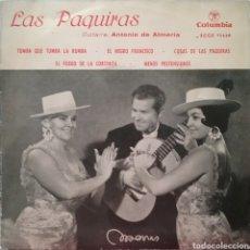 Discos de vinilo: LAS PAQUIRAS. EP. SELLO COLUMBIA. EDITADO EN ESPAÑA. AÑO 1961. Lote 194176436
