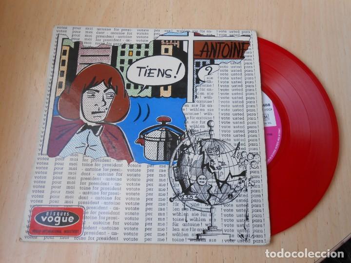 ANTOINE, EP, VOTEZ POUR MOI + 3, AÑO 1966, MADE IN FRANCE (Música - Discos de Vinilo - EPs - Canción Francesa e Italiana)