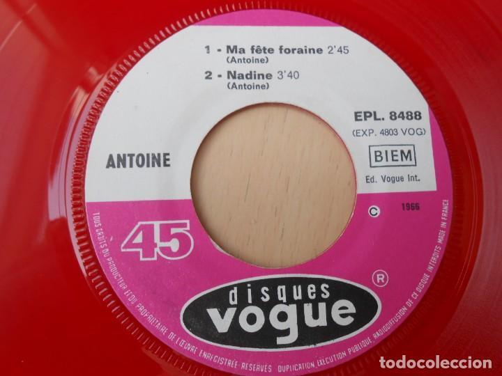 Discos de vinilo: ANTOINE, EP, VOTEZ POUR MOI + 3, AÑO 1966, MADE IN FRANCE - Foto 5 - 194176702