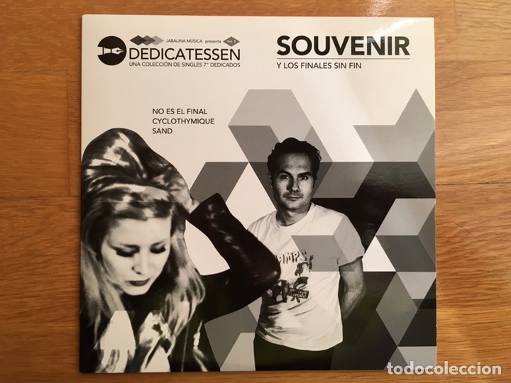 """SOUVENIR: Y LOS FINALES SIN FIN (DEDICATESSEN. UNA COLECCIÓN DE SINGLES 7"""" DEDICADOS) (Música - Discos de Vinilo - EPs - Grupos Españoles de los 90 a la actualidad)"""
