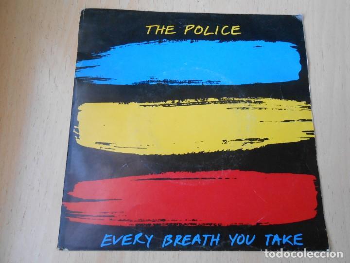 POLICE, THE SG, EVERY BREATH YOU TAKE + 1, AÑO 1983, MADE IN HOLLAND (Música - Discos de Vinilo - Singles - Pop - Rock Extranjero de los 80)