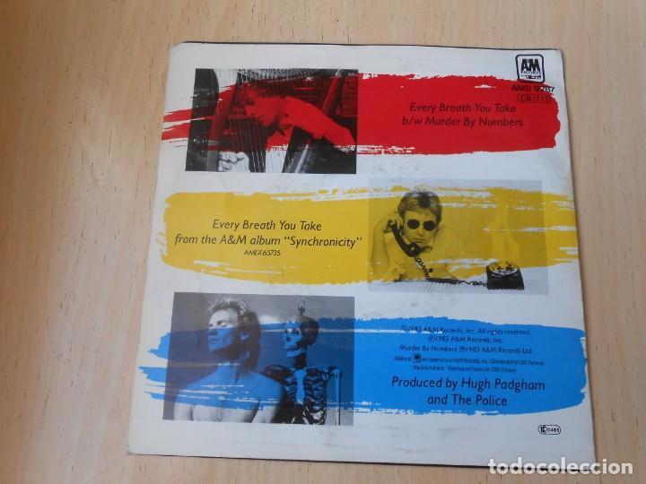 Discos de vinilo: POLICE, The SG, every breath you take + 1, AÑO 1983, MADE IN HOLLAND - Foto 2 - 194178191