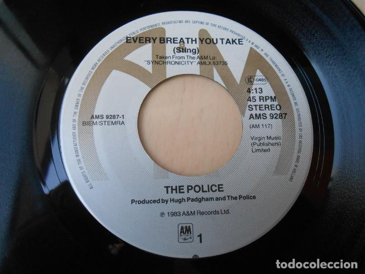 Discos de vinilo: POLICE, The SG, every breath you take + 1, AÑO 1983, MADE IN HOLLAND - Foto 3 - 194178191