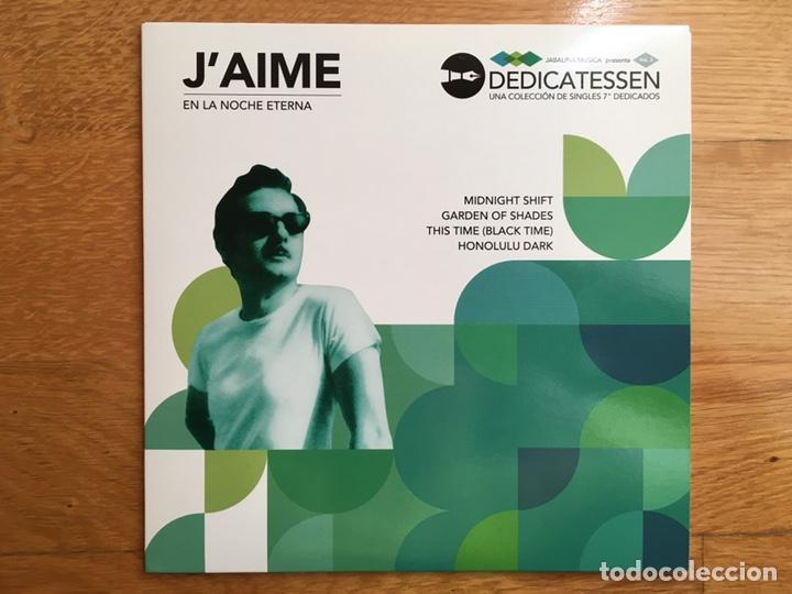 J'AIME: EN LA NOCHE ETERNA (Música - Discos de Vinilo - EPs - Grupos Españoles de los 90 a la actualidad)